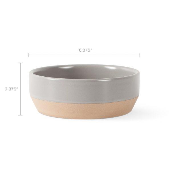 Nosey Dog Stoneware Bowl