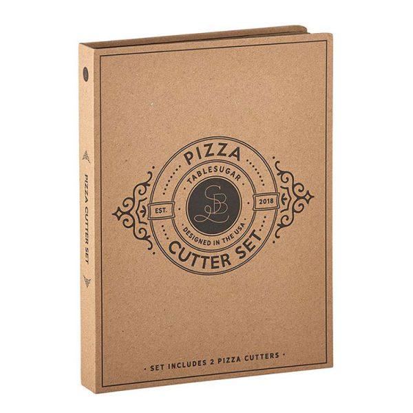 Pizza Cutter Cardboard Box Set