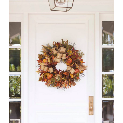 Balsam Hill Fall Wreath